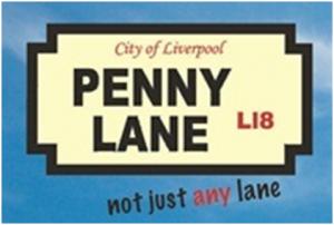 … not just any lane : La devise du Penny Lane Development Trust