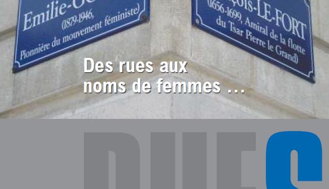 Actualité de la question du genre dans la toponymie en France et en Suisse romande