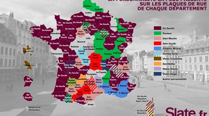 Trois contributions à une géographie de l'odonymie française