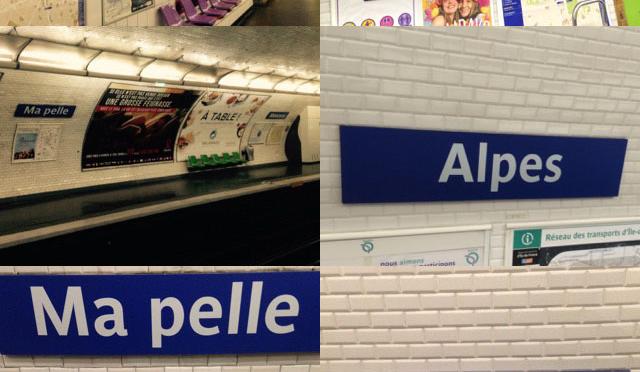 Le 1er avril toponymique de la RATP
