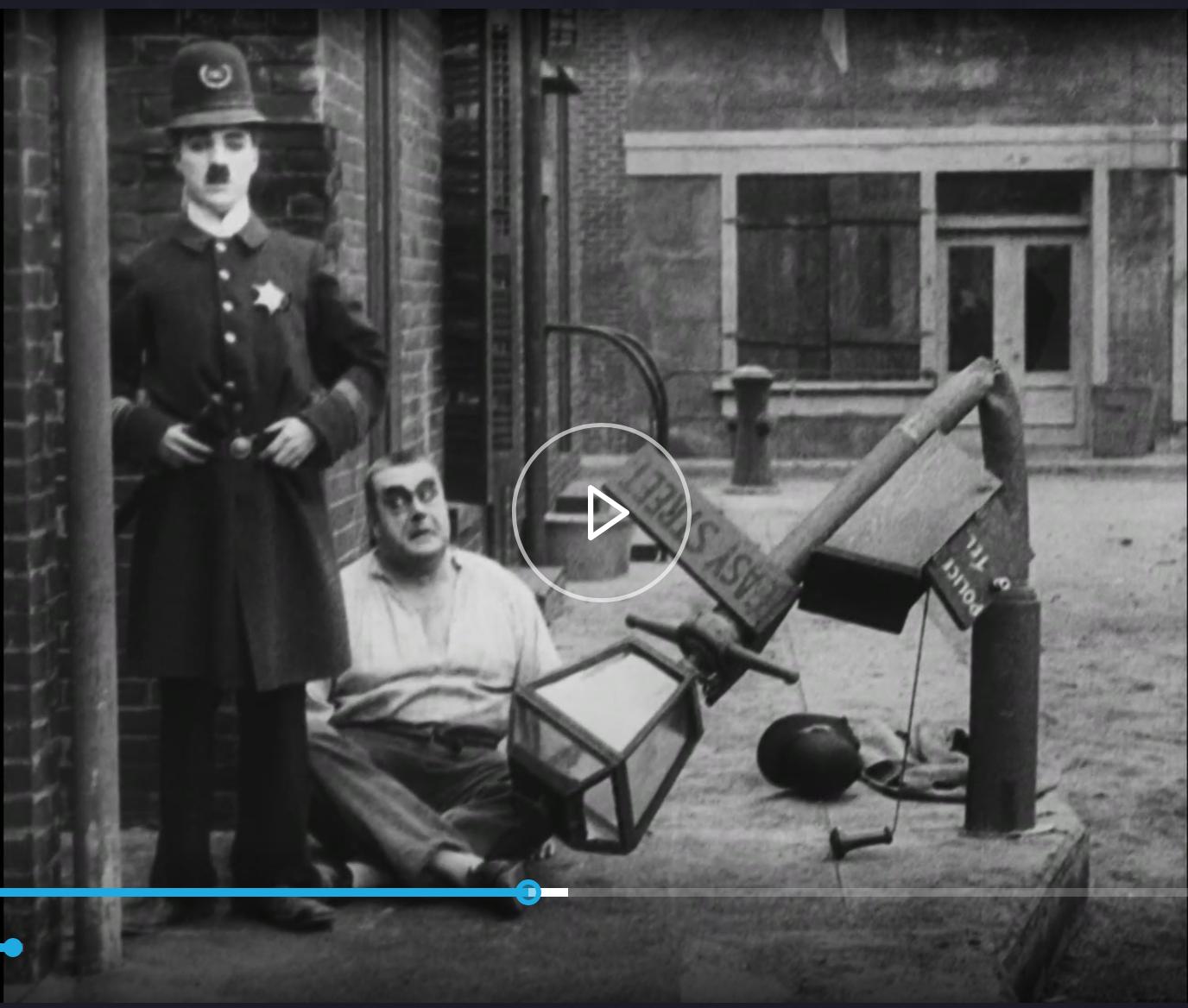 From Easy Street - Charlie Chaplin - Mutual 1917